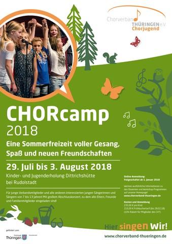 Chorcamp Plakat ansicht